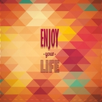Simple Sayings: Enjoy Your Life 12 x 12 Paper