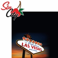 Sin City: Sin City 2 Piece Laser Die Cut Kit