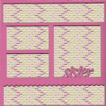 Sister 12 x 12 Overlay Quick Page Laser Die Cut