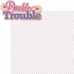 Sisters: Double Trouble 2 Piece Laser Die Cut Kit