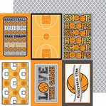 Slam Dunk: Swish 12 x 12 Double-Sided Cardstock