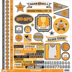 Slam Dunk: This & That 12 x 12 Cardstock Stickers
