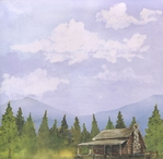 Smoky Mountains: Mountain Cabin 12 x 12 Double-Sided Cardstock
