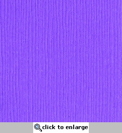 Snapdragon Grasscloth 12 X 12 Bazzill Cardstock (Purple)