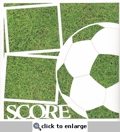 Soccer: Score 12 x 12 Overlay Quick Page Laser Die Cut