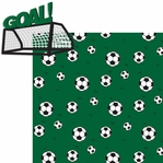 Soccer Star: Goal 2 Piece Laser Die Cut Kit