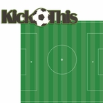 Soccer Star: Kick This 2 Piece Laser Die Cut Kit