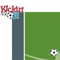 Soccer Star: Kickin' It 2 Piece Laser Die Cut Kit