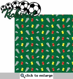 Soccer Star: Kickin It 2 Piece Laser Die Cut Kit