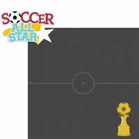 Soccer Star: Soccer All Star 2 Piece Laser Die Cut Kit