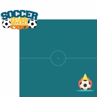 Soccer Star: Soccer Fever 2 Piece Laser Die Cut Kit