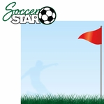 Soccer Star: Soccer Star 2 Piece Laser Die Cut Kit