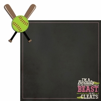 Softball: Beast 2 Piece Laser Die Cut Kit