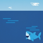 South Africa: Diving With Sharks 12 x 12 Paper