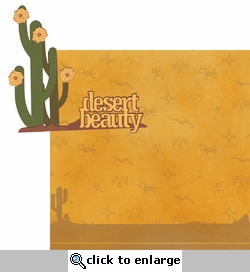 Southwest: Desert Beauty 2 Piece Laser Die Cut Kit