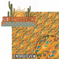 Southwest: Southwest 2 Piece Laser Die Cut Kit
