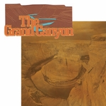Southwest: The Grand Canyon 2 Piece Laser Die Cut Kit