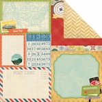 Souvenir: Wanderlust 12 x 12 Double Sided Cardstock