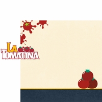 Spain: La Tomatina 2 Piece Laser Die Cut Kit