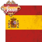Spain: Spain 2 Piece Laser Die Cut Kit