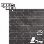 Speech and Debate: 2 Piece Laser Die Cut Kit