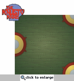 Spongedude: Krusty Krab 2 Piece Laser Die Cut Kit