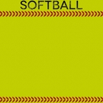 Sports Galore: Softball 12 x 12 Paper