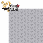 Sports Mom: Band Mom 2 Piece Laser Die Cut Kit