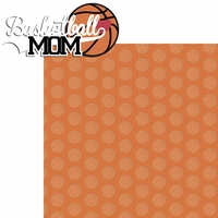 Sports Mom: Basketball Mom 2 Piece Laser Die Cut Kit