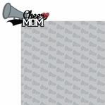 Sports Mom: Cheer Mom 2 Piece Laser Die Cut Kit