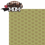 Sports Mom: Football Mom 2 Piece Laser Die Cut Kit
