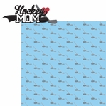 Sports Mom: Hockey Mom 2 Piece Laser Die Cut Kit