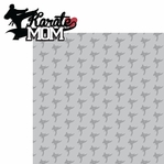 Sports Mom: Karate Mom 2 Piece Laser Die Cut Kit