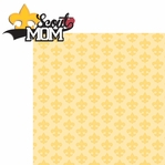 Sports Mom: Scout Mom Boy 2 Piece Laser Die Cut Kit