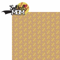 Sports Mom: Softball Mom 2 Piece Laser Die Cut Kit