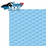 Sports Mom: Swim Mom 2 Piece Laser Die Cut Kit