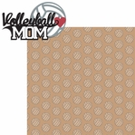 Sports Mom: Volleyball Mom 2 Piece Laser Die Cut Kit