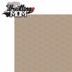Sports Mom: Wrestling Mom 2 Piece Laser Die Cut Kit