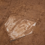 Sportsmanship: Home Plate 12 x 12 Paper