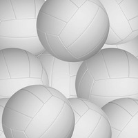 Sportsmanship: Volleyballs 12 x 12 Paper