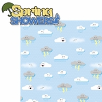 Spring-a-long: Spring Showers 2 Piece Laser Die Cut Kit