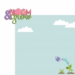 Spring: Bloom and Grow 2 Piece Laser Die Cut Kit