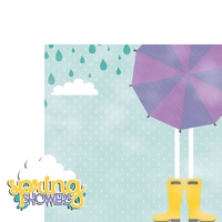 Spring: Spring Showers 2 Piece Laser Die Cut Kit