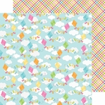 Springtime: Colorful Kits 12 x 12 Double Sided Paper