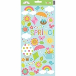Springtime Icon 6 x 12 Cardstock Sticker Sheet