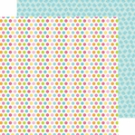 Springtime: Rainbow Sprinkles 12 x 12 Double Sided Paper