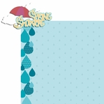 Springtime: Spring Showers 2 Piece Laser Die Cut Kit