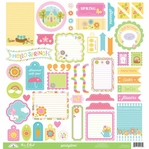 Springtime This & That 12 x 12 Cardstock Sticker Sheet