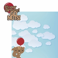 Squirrel: Go Nuts! 2 Piece Laser Die Cut Kit