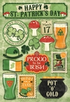 St. Patrick's Day Cardstock Sticker Sheet